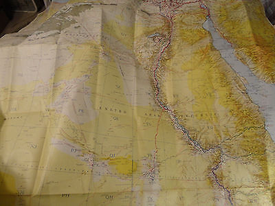 1962 Us Army Corp Engineer World Maps Series 1304W-Middle East-Arab Republic-Exc