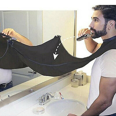 Waterproof Bathroom Apron Beard Care Trimmer Hair Shave Apron for Home Salon