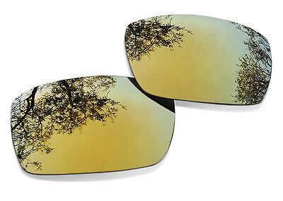 Fit&See Polarized Gold Replacement Lenses for Oakley Gascan