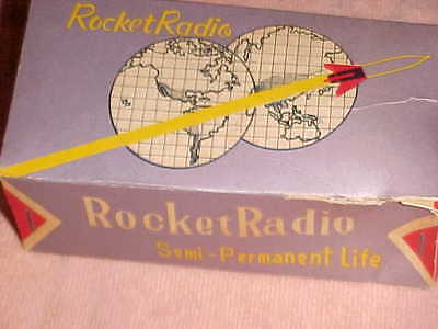 "Best!! Collector Grade Mint  "" Rocket Radio ""  -  Miniman Germanium - Boxed!"