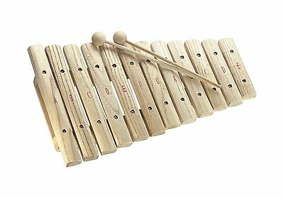 Stagg XYLO-J12 12 Notes Traditional Wooden Xylophone