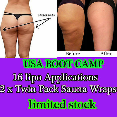 16 PACKS weight watcher slim body clay kit it works for inch-loss free wrap film