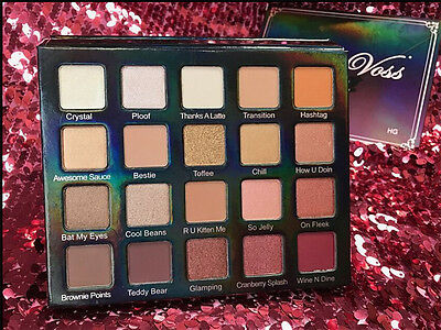 Natural Eye Shadow Palette Makeup 20 Colors Warm color Cosmetics Waterproof New