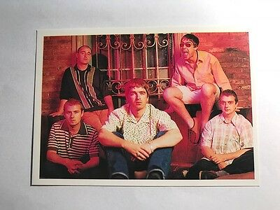 Smash Hits Collection Planet Pop '99 Panini Music Sticker Card - #102 Oasis