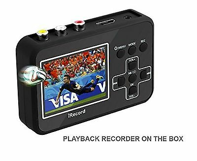 Video Grabber Box Convert VHS Tapes To Digital Format From VCRs Camcorders DVDs