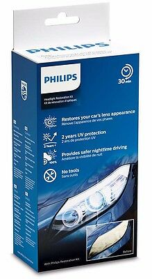 Philips Headlight Cleaning and Restoration Kit with UV Protection HRK00XM