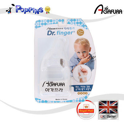 New Baby Stop Sucking Thumb Dr.finger Harmless Months Years Guard Protect Band