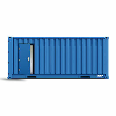 19 Point Locking Container Steel Door - Pre Fab and Steel Building