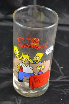 THE SIMPSONS 90s 1994 HUNGRY JACKS COLLECTABLE GLASS CUP