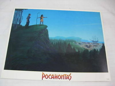 POCAHONTAS DISNEY GLOSSY POSTER MOVIE CLIFF PRINT 36 x 28cm