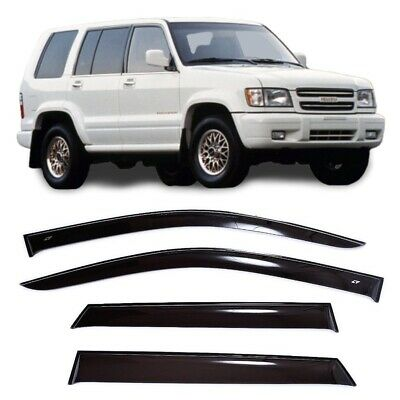For Isuzu Trooper LS 1992-1999 Window Side Visors Sun Rain Guard Vent Deflectors