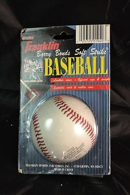 Franklin Barry Bonds Soft Strike Signature Series Leather Baseball New Mip