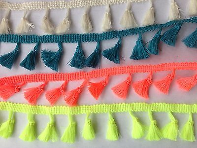 Tassels Trim Braid Fringe Ribbon Edging Craft Decoration 3.5 cm/1.38'' wide 1 yd