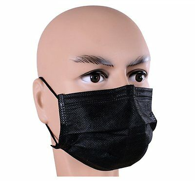 50 Pcs Anti Dust Breathable Disposable Earloop Mask with Independent Packing 4