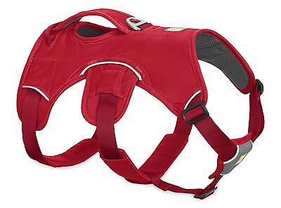 Ruffwear Web Master Dog Harness 30102/615 Red Currant Updated 2017 model NEW