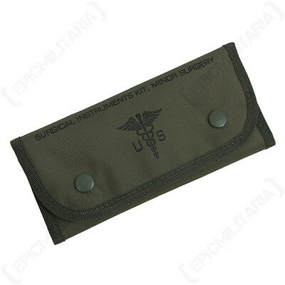 US 6 Piece Surgical Set - American Military Army First Aid Pouch Medical Medic
