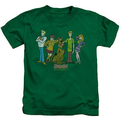 SCOOBY DOO SCOOBY GANG Licensed Toddler Kids Graphic Tee Shirt 2T 3T 4T 4 5-6 7