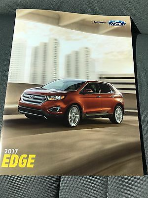 2017 Ford EDGE 28-page Original Sales Brochure