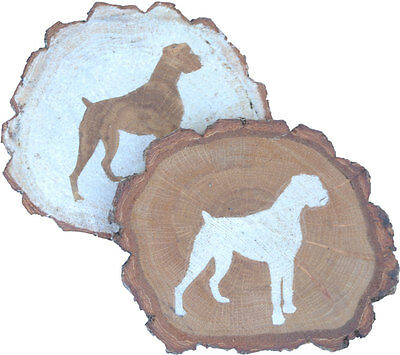 Boxer Coaster Reclaimed Wood