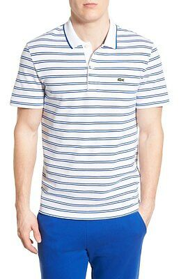 Lacoste Men's Stripe Jersey Piqué Polo