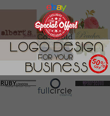 Unique Logo Design + Unlimited Revisions. Cheap, Fast & Professional 50% OFF