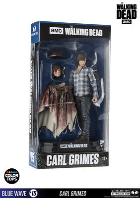 McFarlane Toys The Walking Dead - Carl Grimes 17cm Color Tops Figur