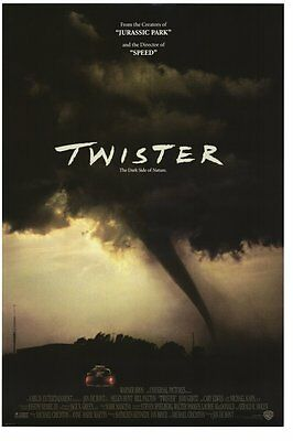 TWISTER MOVIE POSTER 27x40 ORIGINAL 1996 ADVANCE STYLE