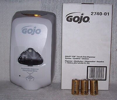 "GOJO Purell Touch Free TFX Dispenser ""FREE BATTERIES INCLUDED""     -  New in Box"