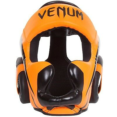 Venum Elite Headgear-Neo Orange Ufc Mma Boxing