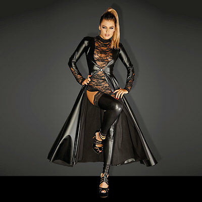 Powerwetlook DIVALICIOUS Gown Coat with lace