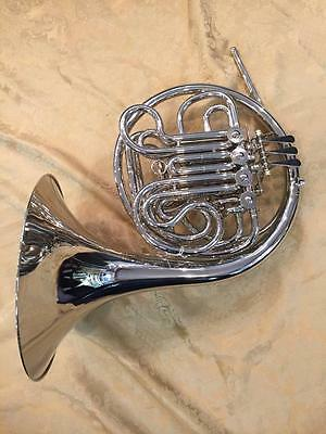 Musikwerks Double French Horn-Copy of Alexander-Nickel Plated-Nice Player!