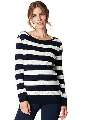 NEW - Esprit - Cotton Openwork Knit Jumper - Maternity Jumper