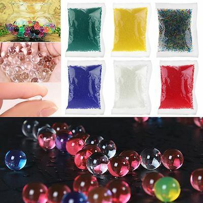 10000pcs Water Plant Flower Jelly Crystal Soil Mud Water Pearls Gel Beads Balls