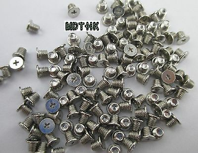 """New Lot 100 2.5"""" Hard Drive Caddy Screws for Sony HP DELL Laptop"""