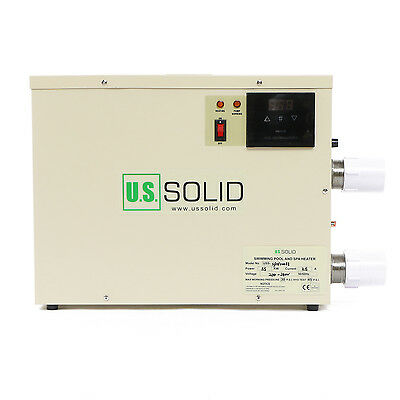 U.S.Solid® 5.5KW Electric Swimming Pool & Home Bath SPA Hot Tub Water Heater
