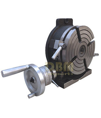 """NEW 10"""" Precision Horizontal Vertical HV Rotary Table Vise Milling Drilling Vice"""