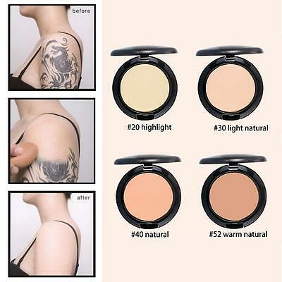 Concealer Full Coverage Cream Foundation Flawless Makeup Silky Smooth Texture