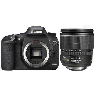 Canon EOS 7D Mark II DSLR Camera Kit with 15-85mm IS USM Lens UU
