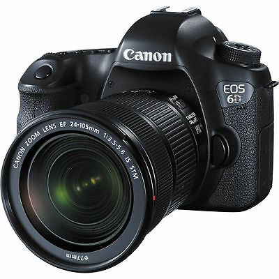 Canon EOS 6D DSLR Camera with 24-105mm STM Lens UU
