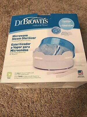Dr. Brown's Microwave Steam Sterilizer, Free Shipping