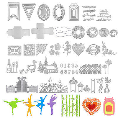 Newest Metal Cutting Dies Stencil Scrapbooking Embossing Album Card DIY Craft
