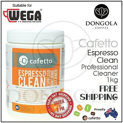 WEGA 1kg Espresso Coffee Machine Cleaner Profesional Cleaning by Cafetto