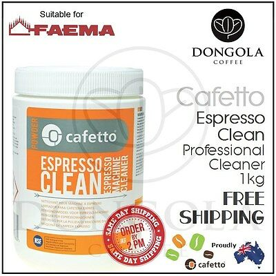 FAEMA 1kg Espresso Coffee Machine Cleaner Profesional Cleaning by Cafetto