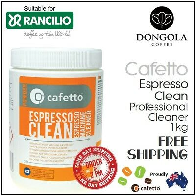 RANCILIO 1kg Espresso Coffee Machine Cleaner Profesional Cleaning by Cafetto