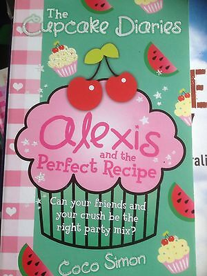 Cupcake Diaries - Alexis And The Perfect Recipe, Children's Chapter Pb Book