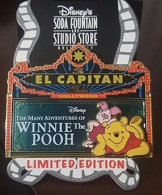 DSF The Many Adventures of Winnie the Pooh Marquee Surprise Pin LE 300