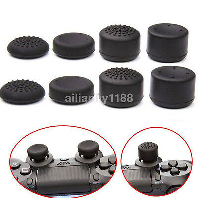8Pcs Anti-Skid Controller Thumb Grip Thumbstick Cap Cover for Playstation PS4 US