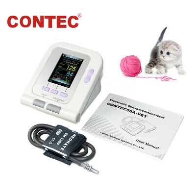 FDA&CE CONTEC08A-VET Digital Veterinary Blood Pressure Monitor Pets/Dog/Cat+Cuff
