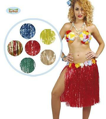 Gonna Hawaii Travestimento Donna Hawaiana Carnevale Party SPECIFICARE COLORE