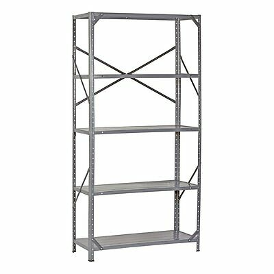 5 Tier Wire Shelving Rack Adjustable Shelf Storage Heavy Duty Garage Steel Unit